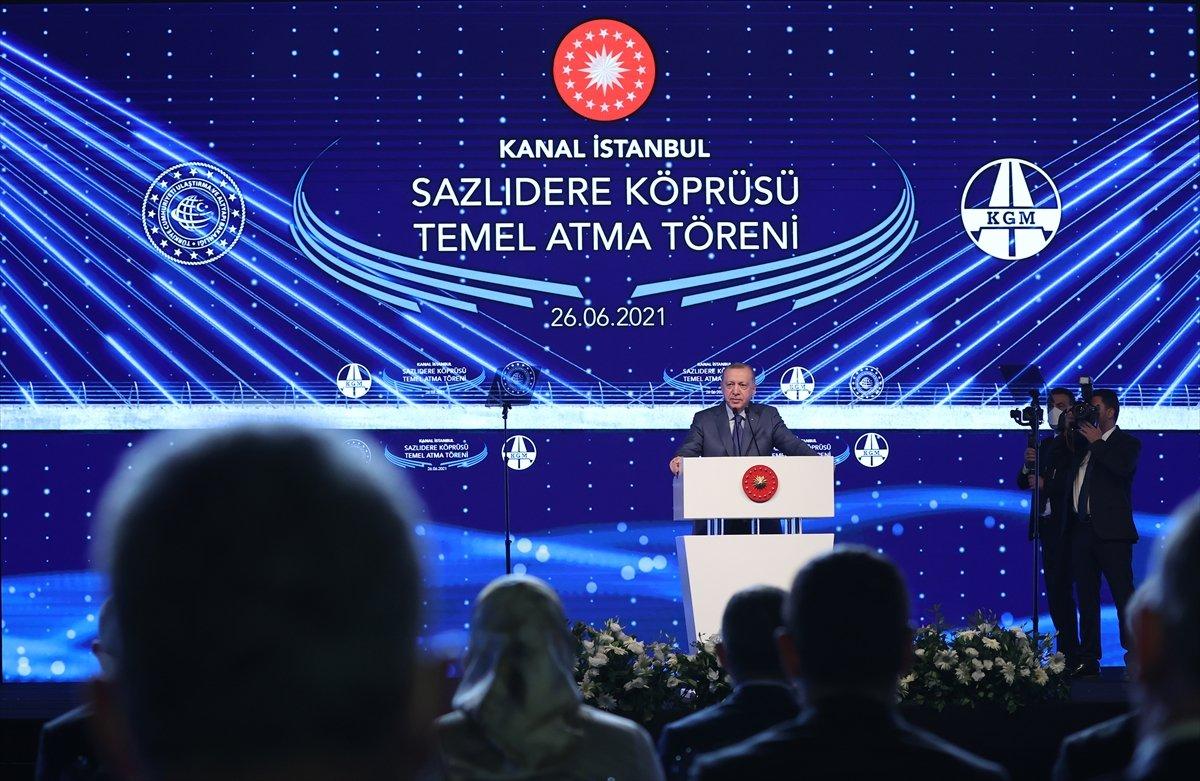 Cumhurbaşkanı Erdoğan: Kanal İstanbul kendi kendini finanse edecektir #1
