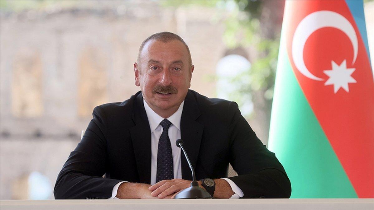 İlham Aliyev: Ermenistan, sınırları belirlemek için bizimle birlikte çalışmalıdır #1