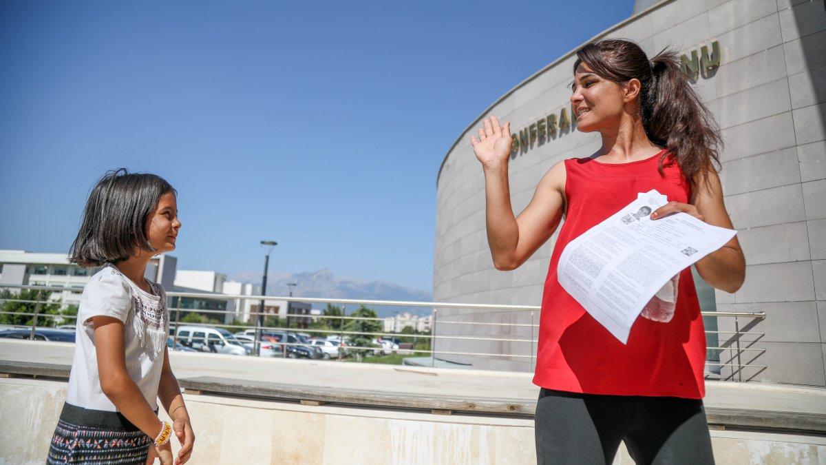 Melek İpek üniversite sınavına girdi #2