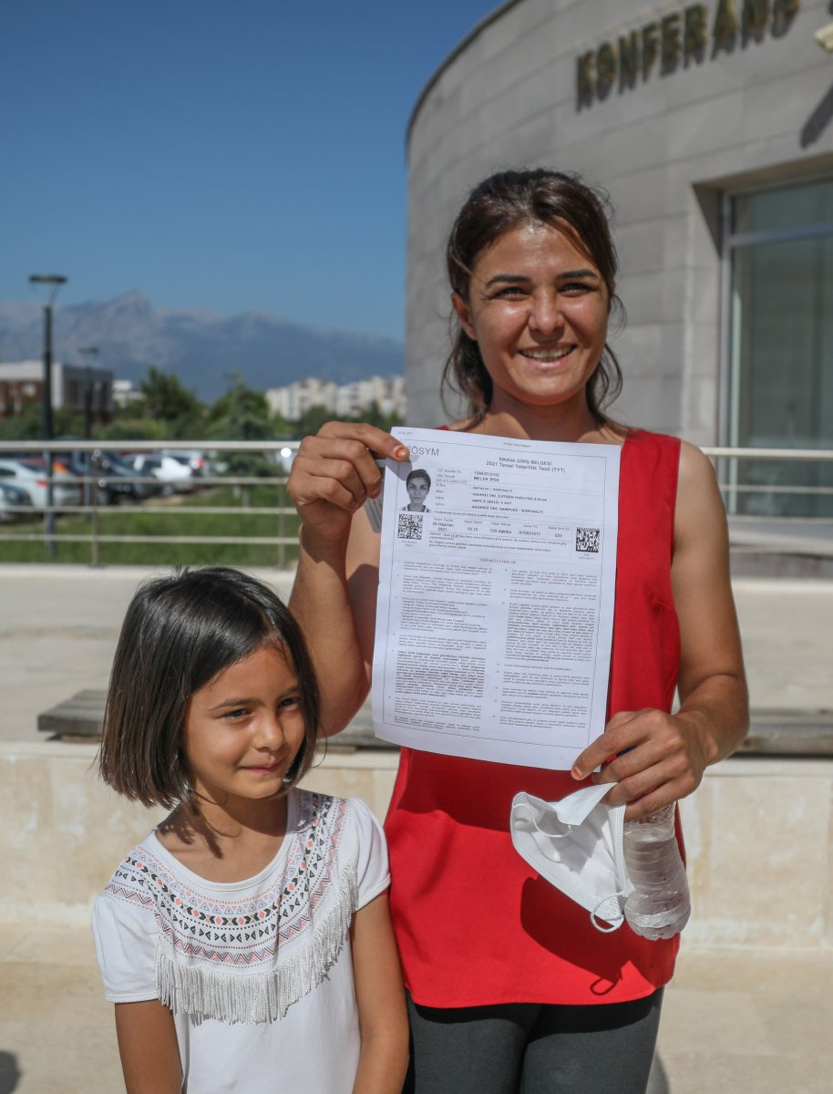 Melek İpek üniversite sınavına girdi #4