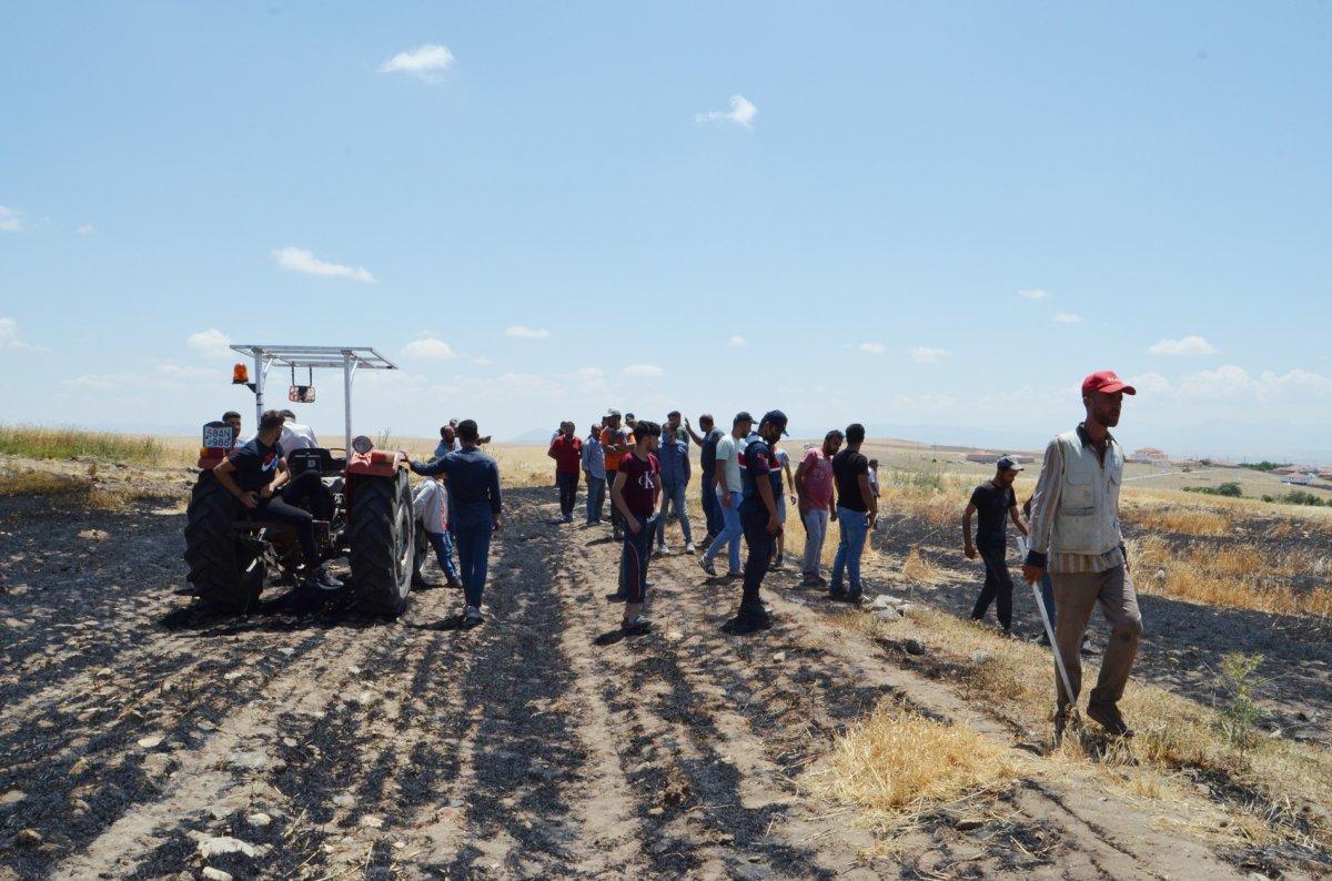 Aksaray da arpa ekili alan yandı  #4