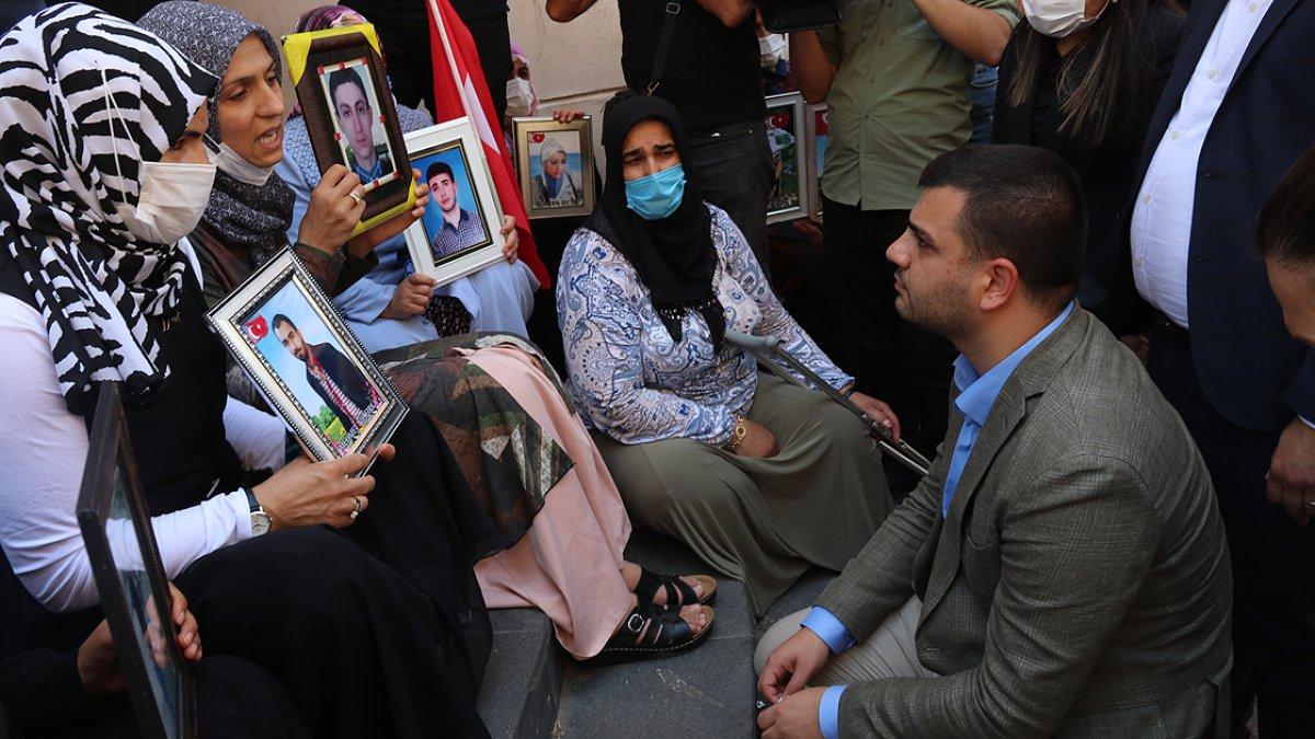 Bir aile daha Diyarbakır annelerinin oturma eyleminde #2