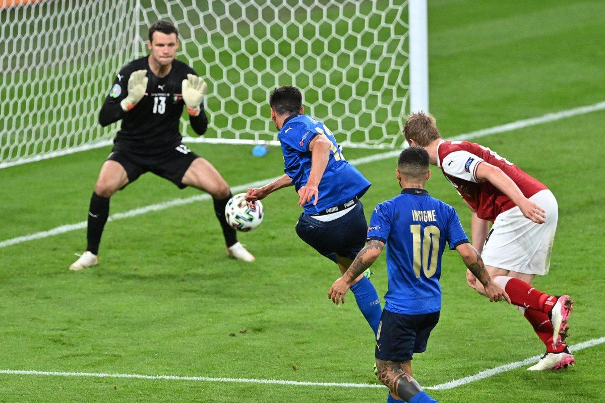 Euro 2020 de Avusturya yı eleyen İtalya çeyrek finalde #5