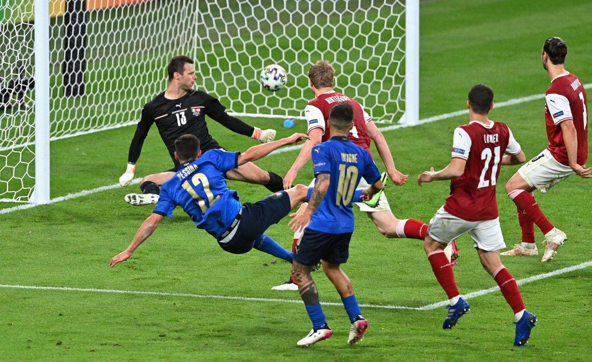 Euro 2020 de Avusturya yı eleyen İtalya çeyrek finalde #4