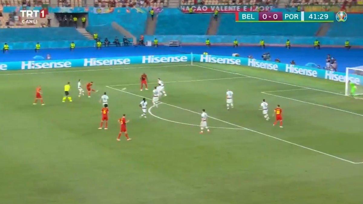 Thorgan Hazard ve nefis 1. gol
