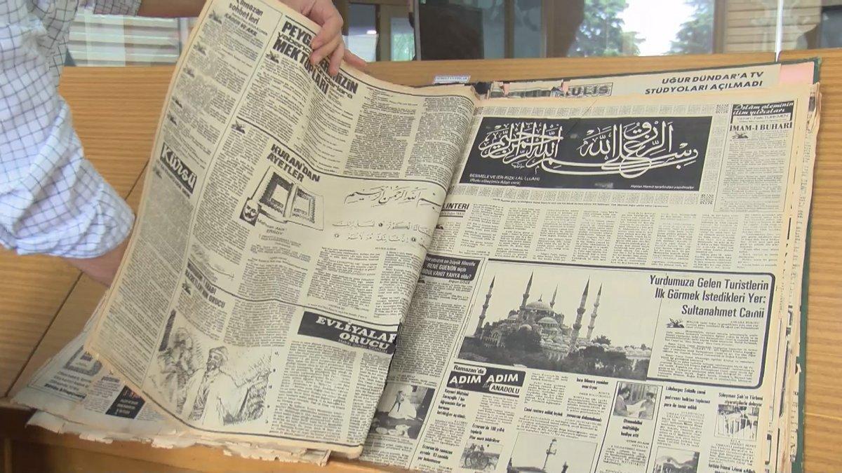 Atatürk Kitaplığı ndaki tarihi gazete ve kitap nüshalarına jiletli tahribat #1