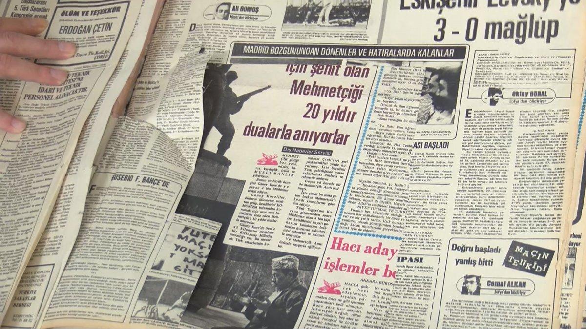 Atatürk Kitaplığı ndaki tarihi gazete ve kitap nüshalarına jiletli tahribat #4