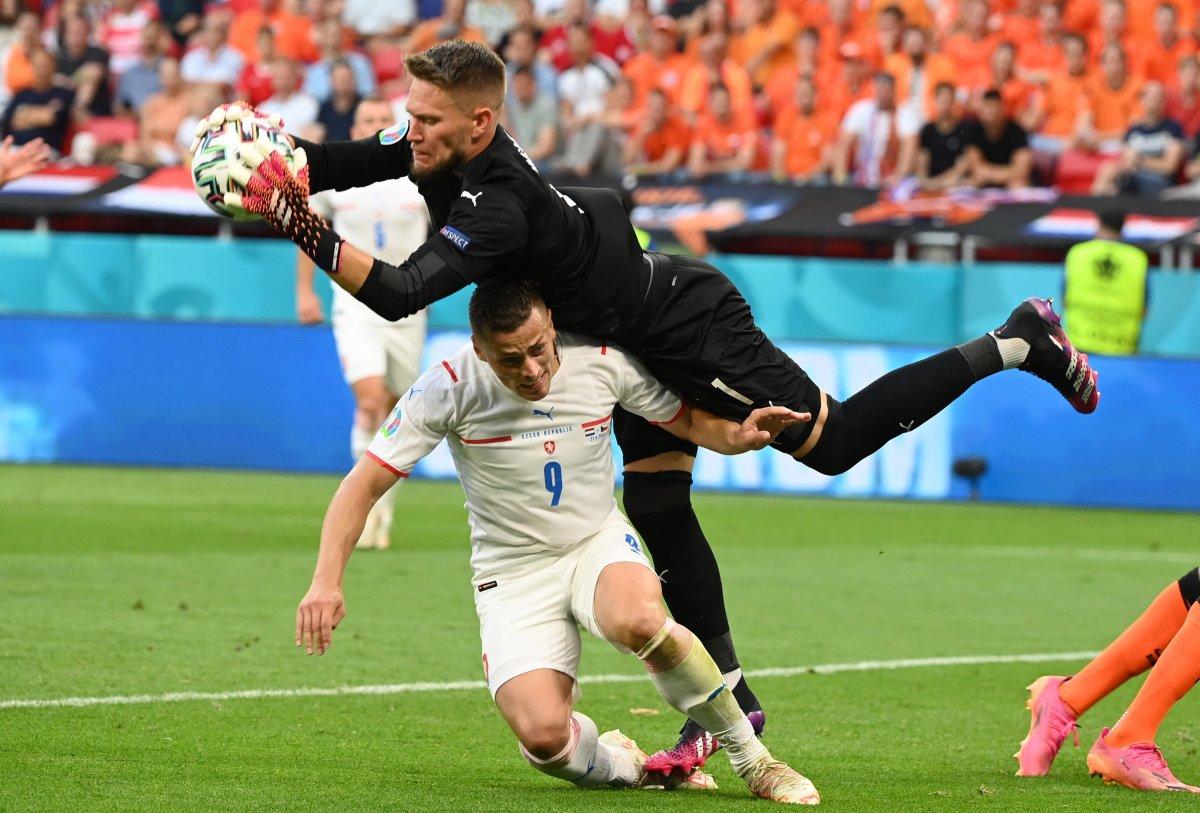 Hollanda yı eleyen Çekya çeyrek finalde #1