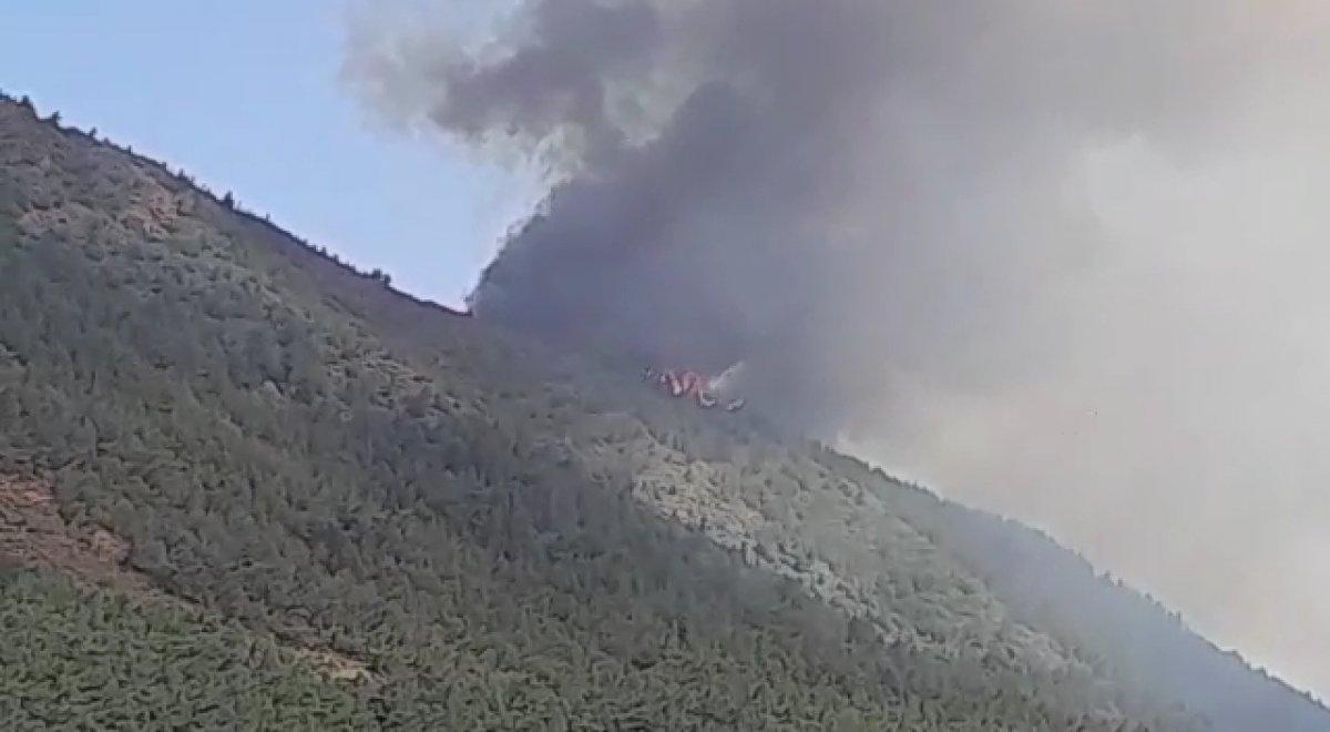 Marmaris te orman yangını #4