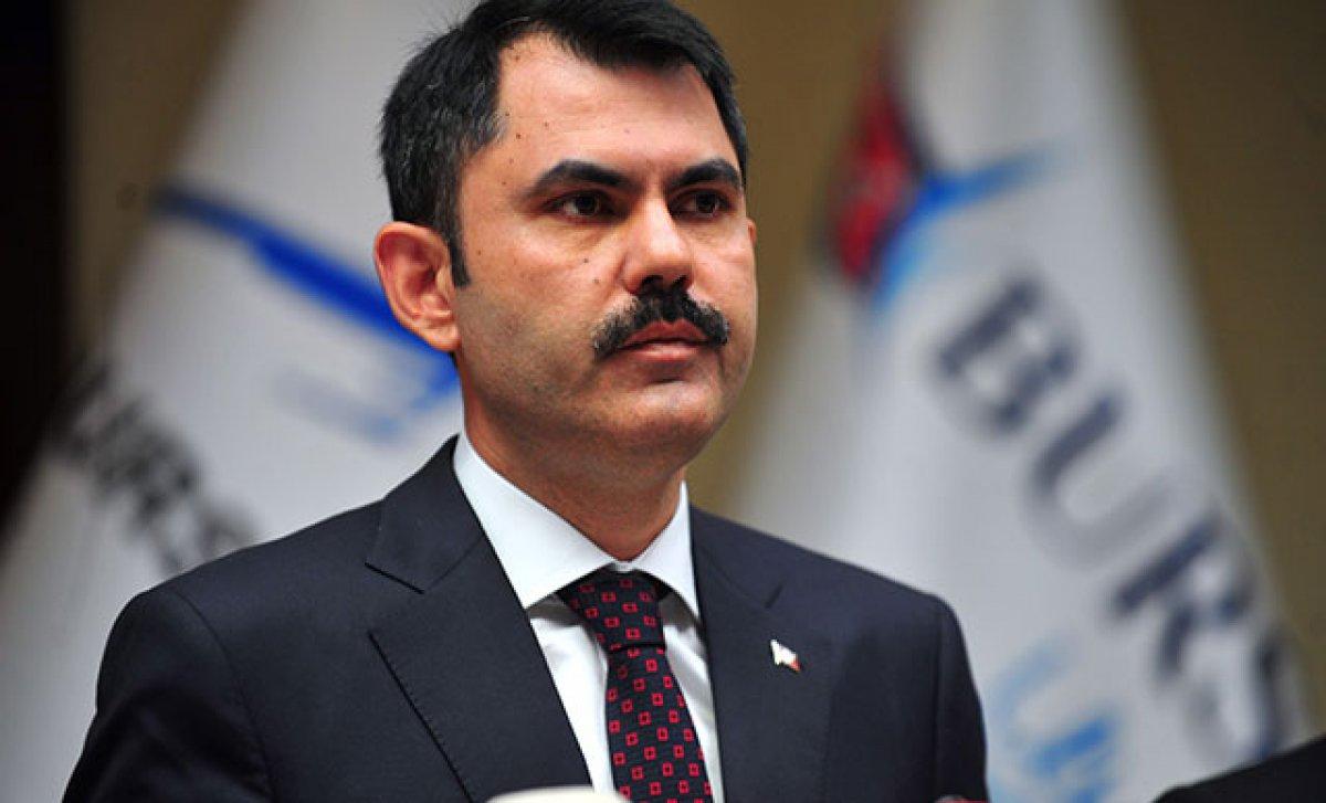 Murat Kurum'dan  ambalajlı ürün  açıklaması #1