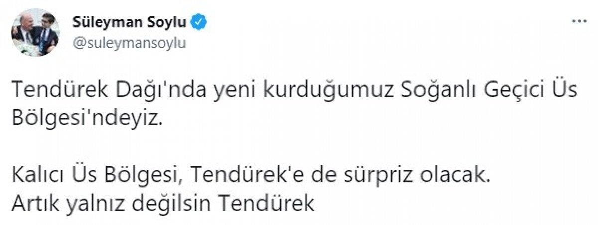 Süleyman Soylu, Van da askeri üs bölgesini ziyaret etti #5