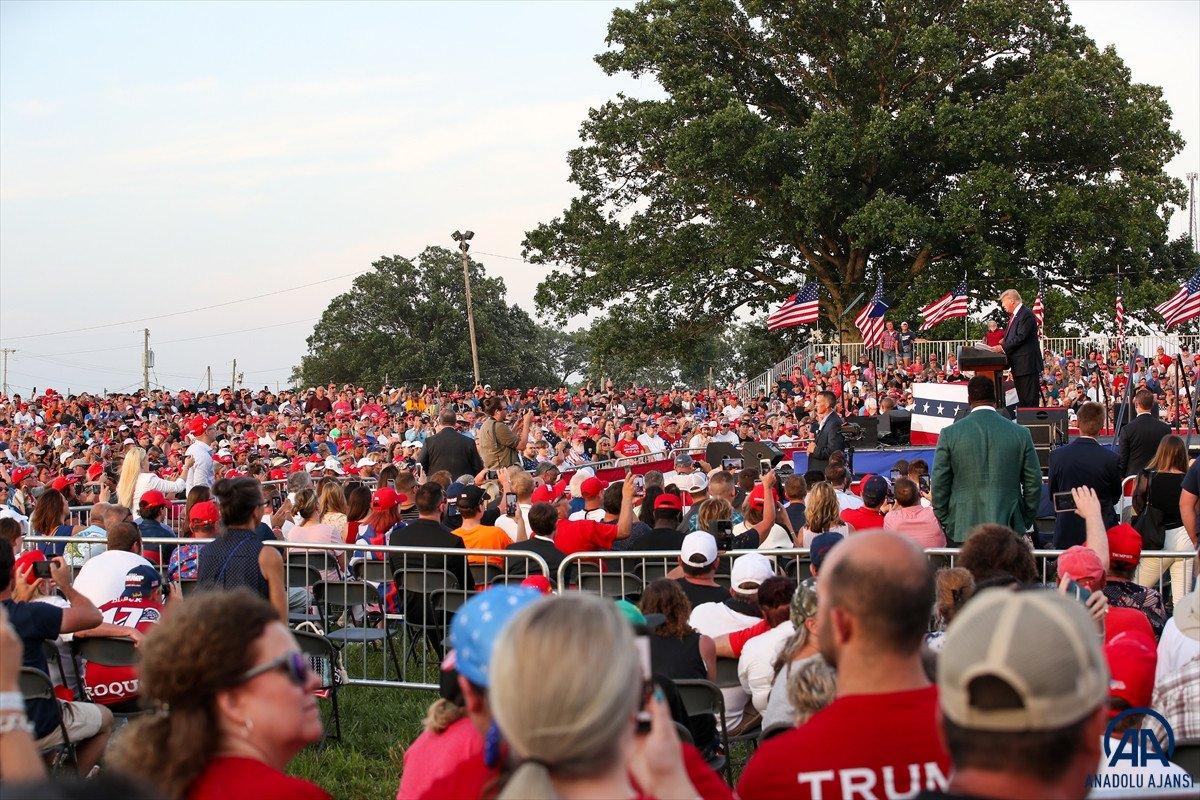 Trump aylar sonra ilk kez Ohio da miting düzenledi: Amerika yı geri alacağız #4