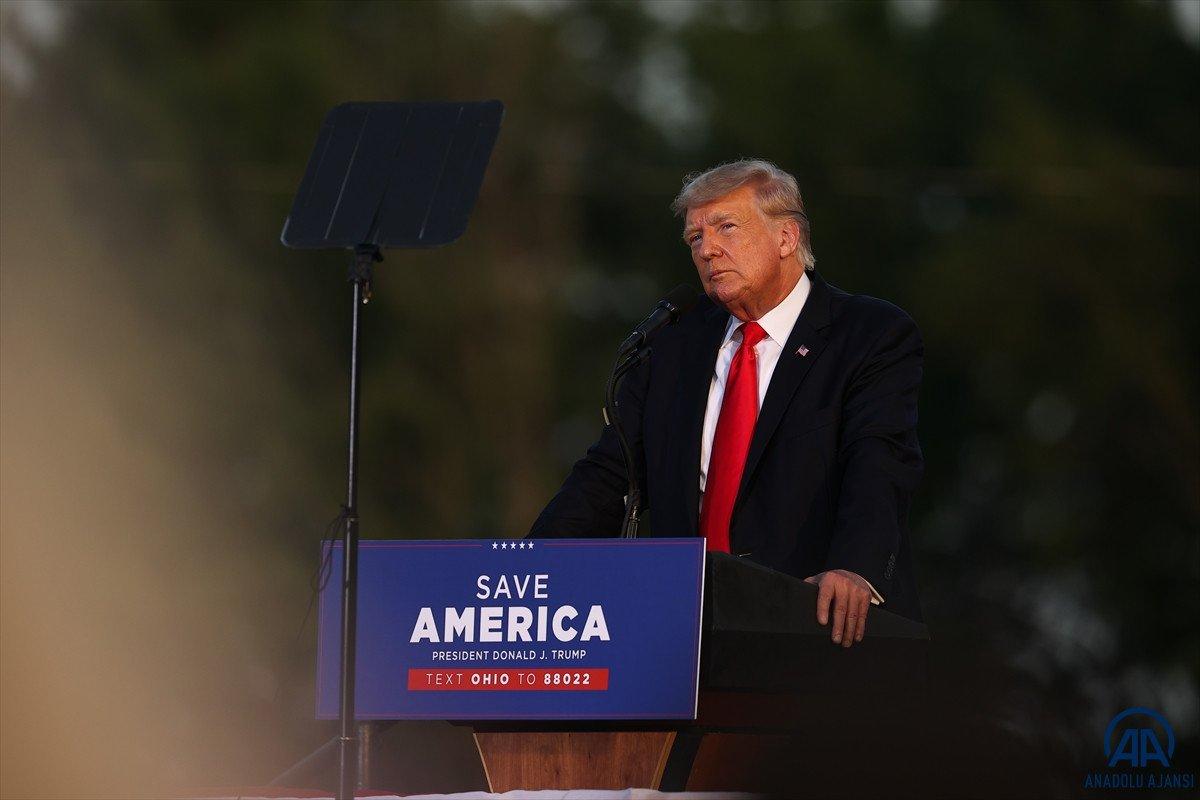 Trump aylar sonra ilk kez Ohio da miting düzenledi: Amerika yı geri alacağız #6