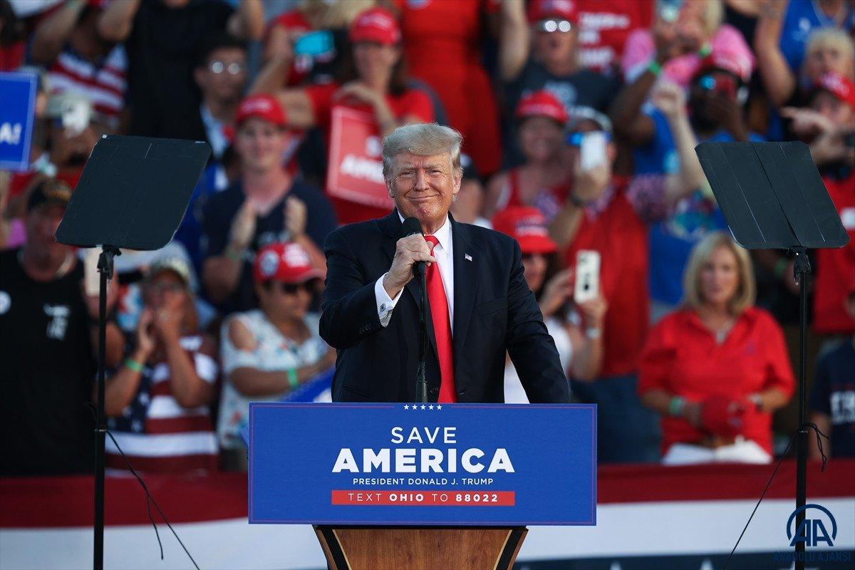 Trump aylar sonra ilk kez Ohio da miting düzenledi: Amerika yı geri alacağız #3