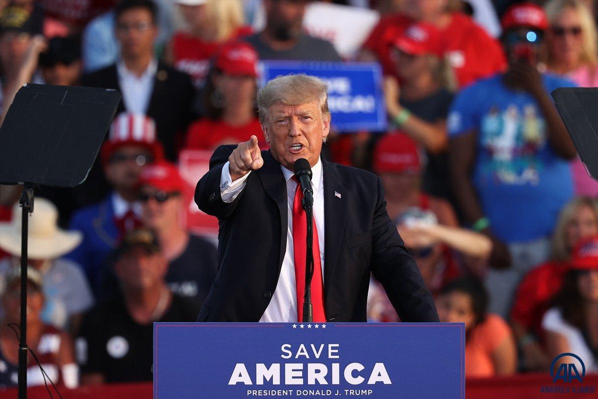 Trump aylar sonra ilk kez Ohio da miting düzenledi: Amerika yı geri alacağız #7