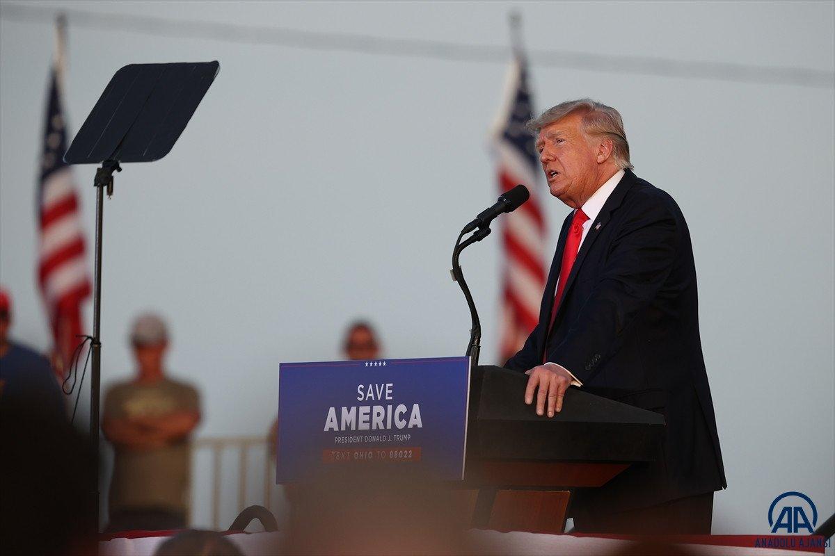 Trump aylar sonra ilk kez Ohio da miting düzenledi: Amerika yı geri alacağız #2