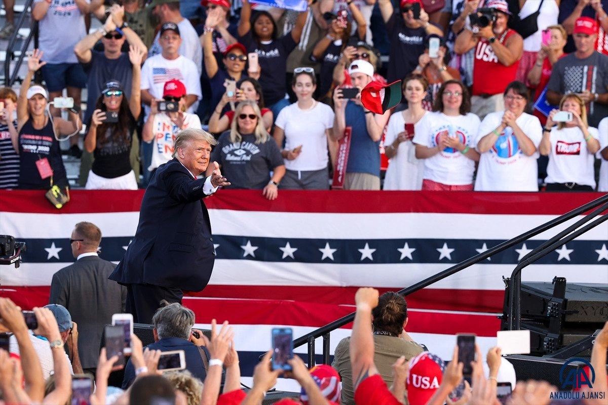 Trump aylar sonra ilk kez Ohio da miting düzenledi: Amerika yı geri alacağız #8