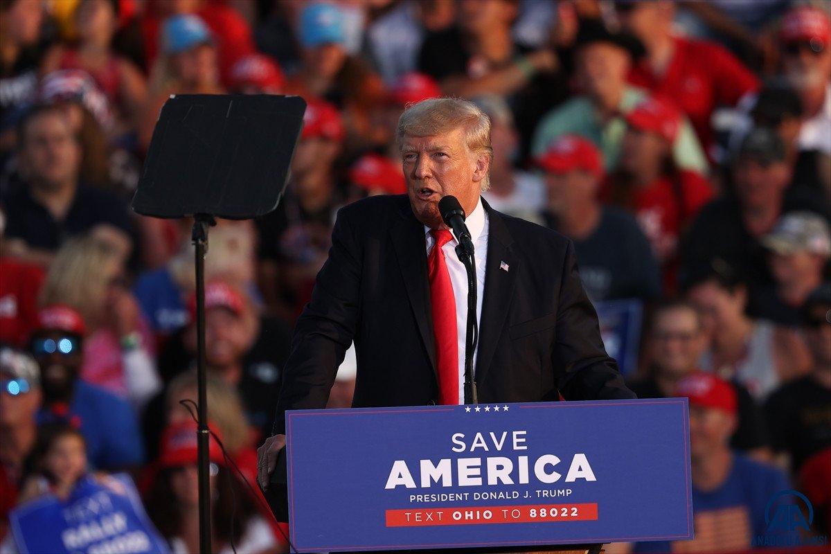 Trump aylar sonra ilk kez Ohio da miting düzenledi: Amerika yı geri alacağız #1