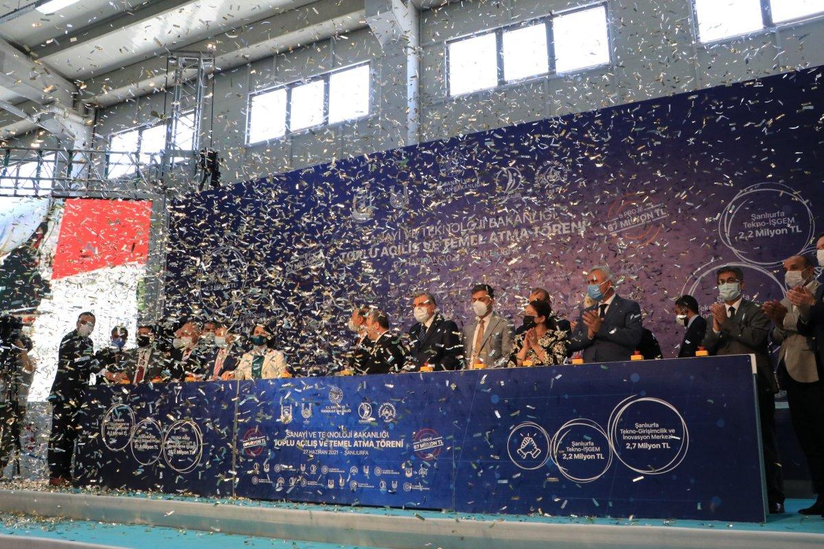 Mustafa Varank, 5 projenin temel atma töreni için Şanlıurfa ya geldi #4