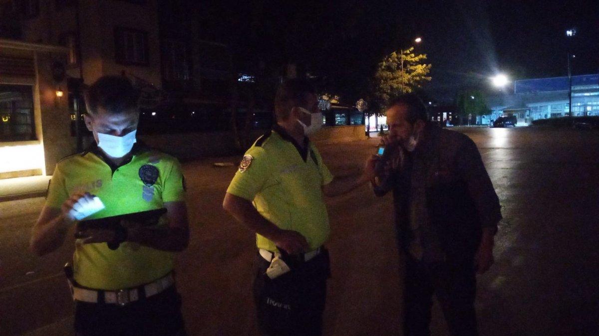 Bursa da alkollü sürücüden polise güldüren tehdit #3
