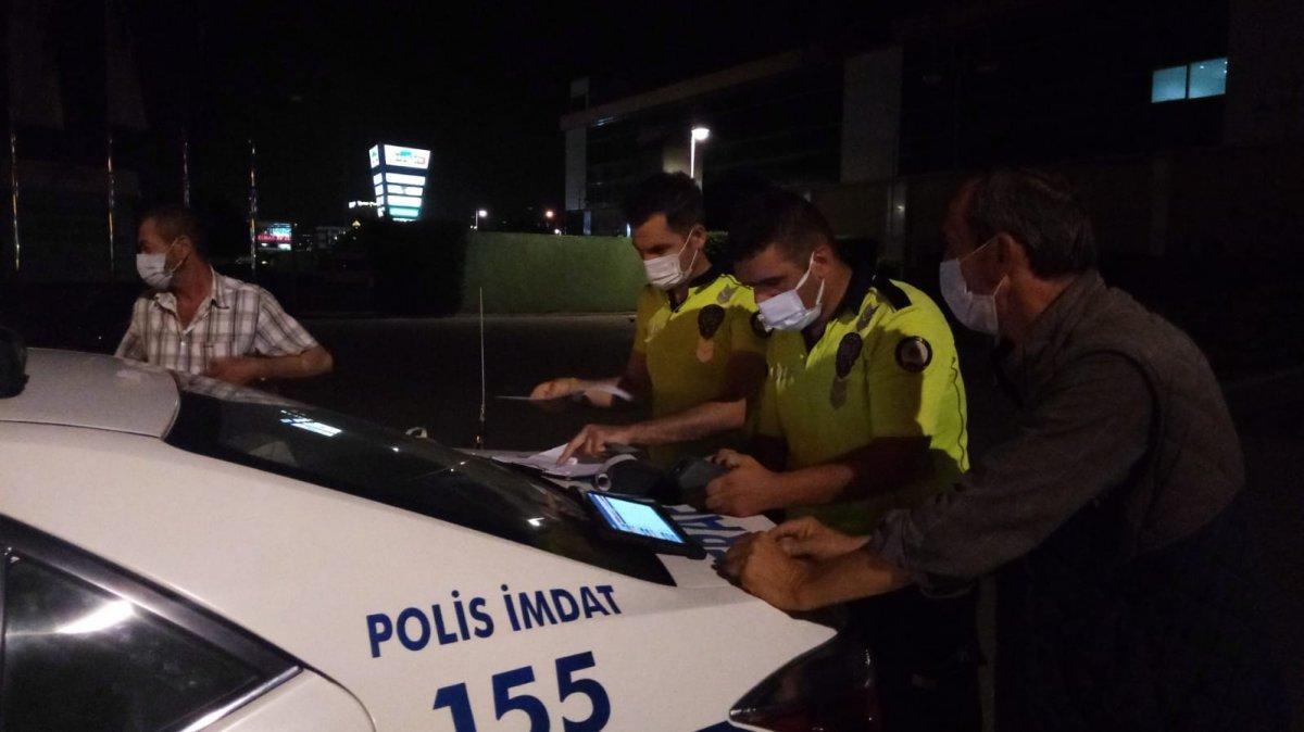 Bursa da alkollü sürücüden polise güldüren tehdit #4