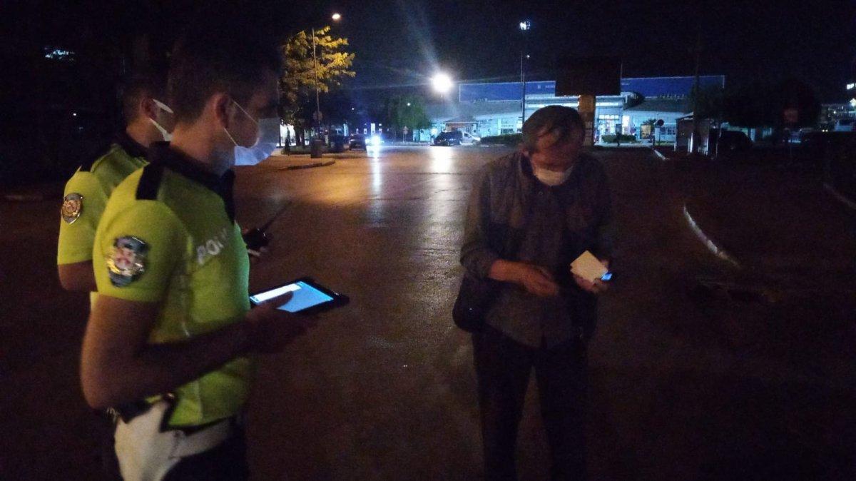 Bursa da alkollü sürücüden polise güldüren tehdit #5