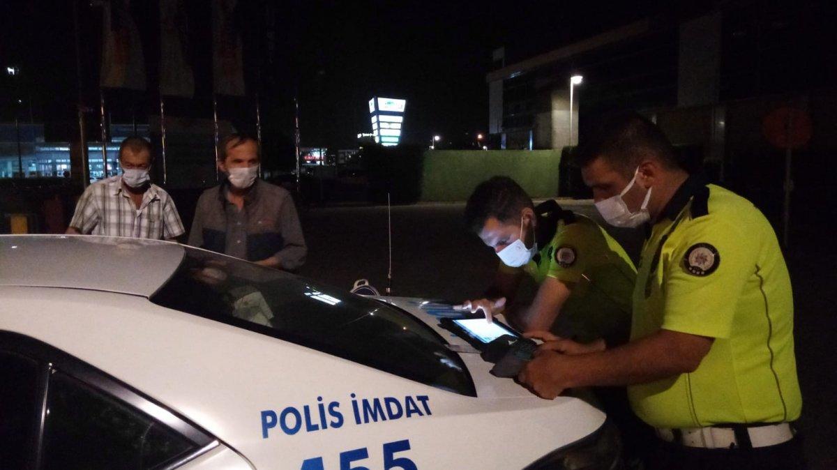 Bursa da alkollü sürücüden polise güldüren tehdit #1