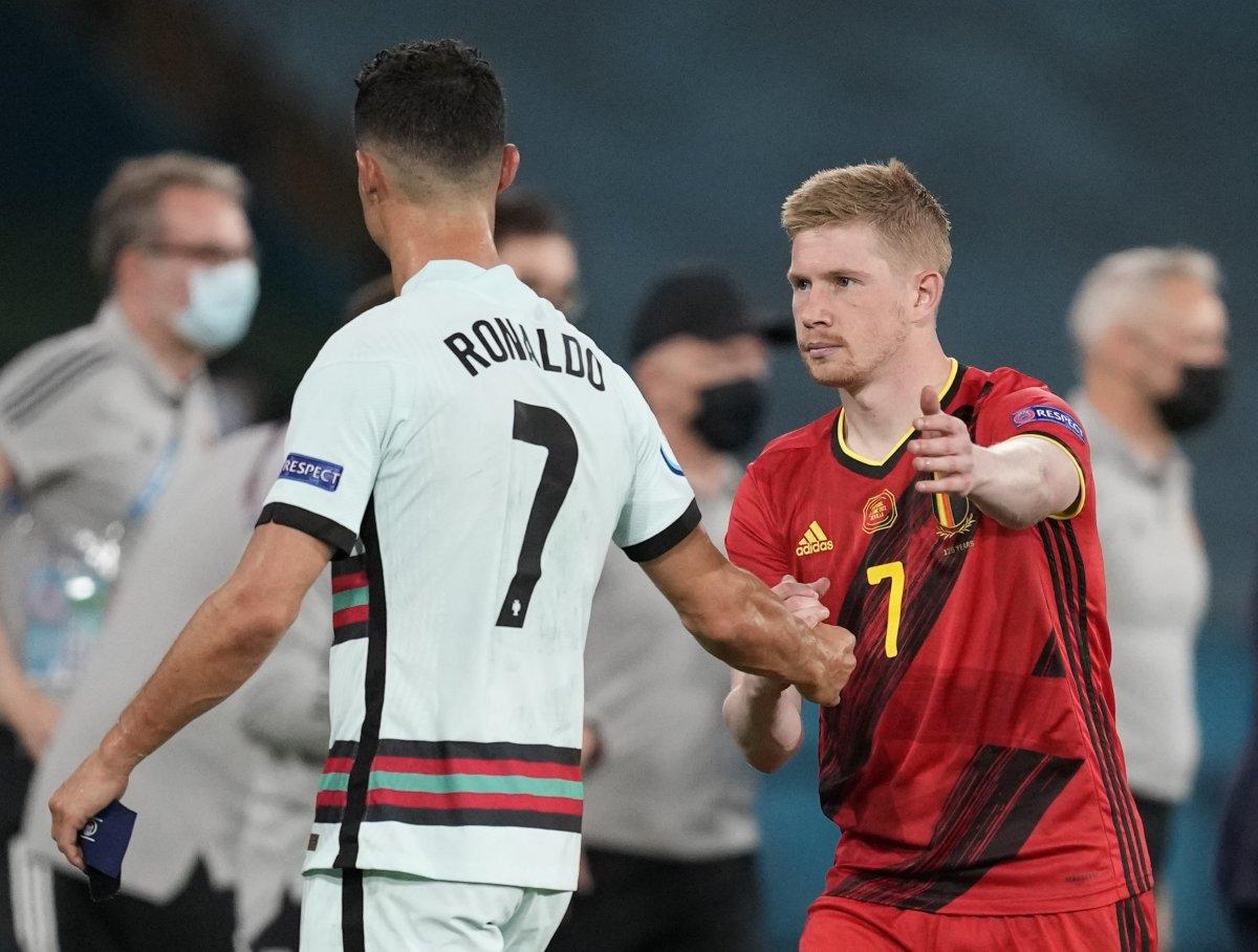 Cristiano Ronaldo son düdükle birlikte yıkıldı #4