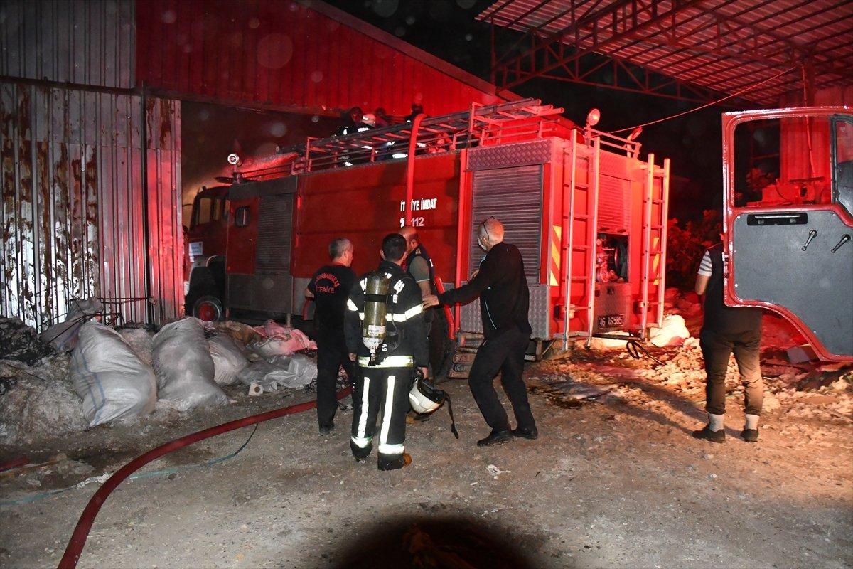 Kahramanmaraş'ta fabrika yangını #3