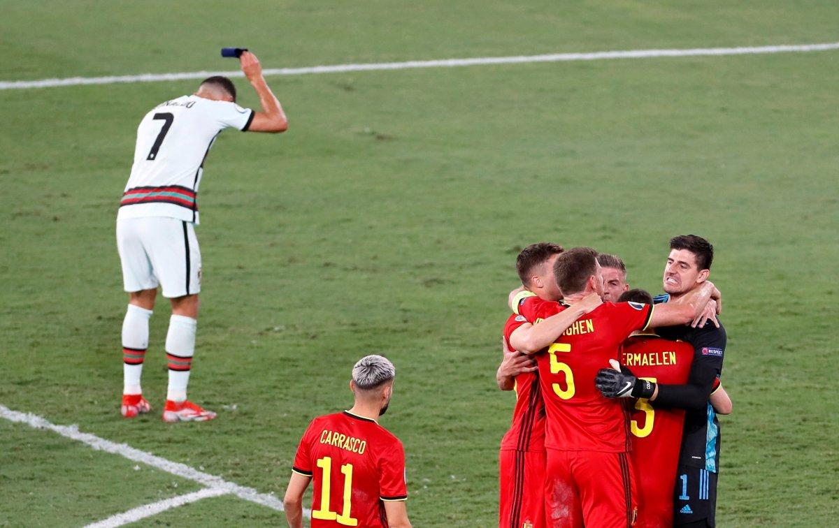 Cristiano Ronaldo son düdükle birlikte yıkıldı #1