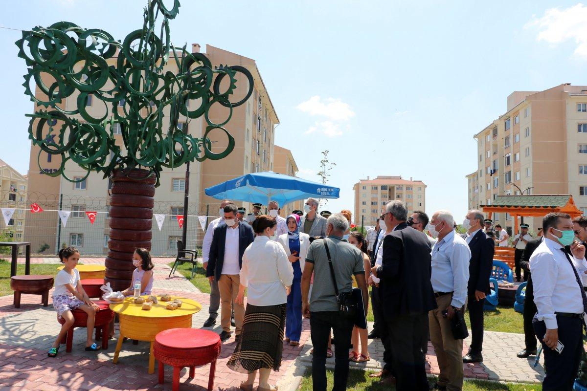 Edirne deki yeni parka, Naim Süleymanoğlu heykeli yapıldı #3