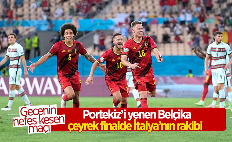 Belçika, Portekiz'i tek golle mağlup etti