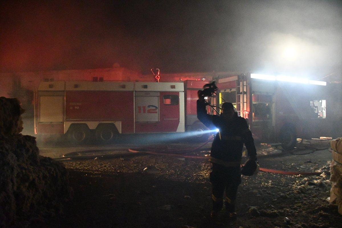 Kahramanmaraş'ta fabrika yangını #2