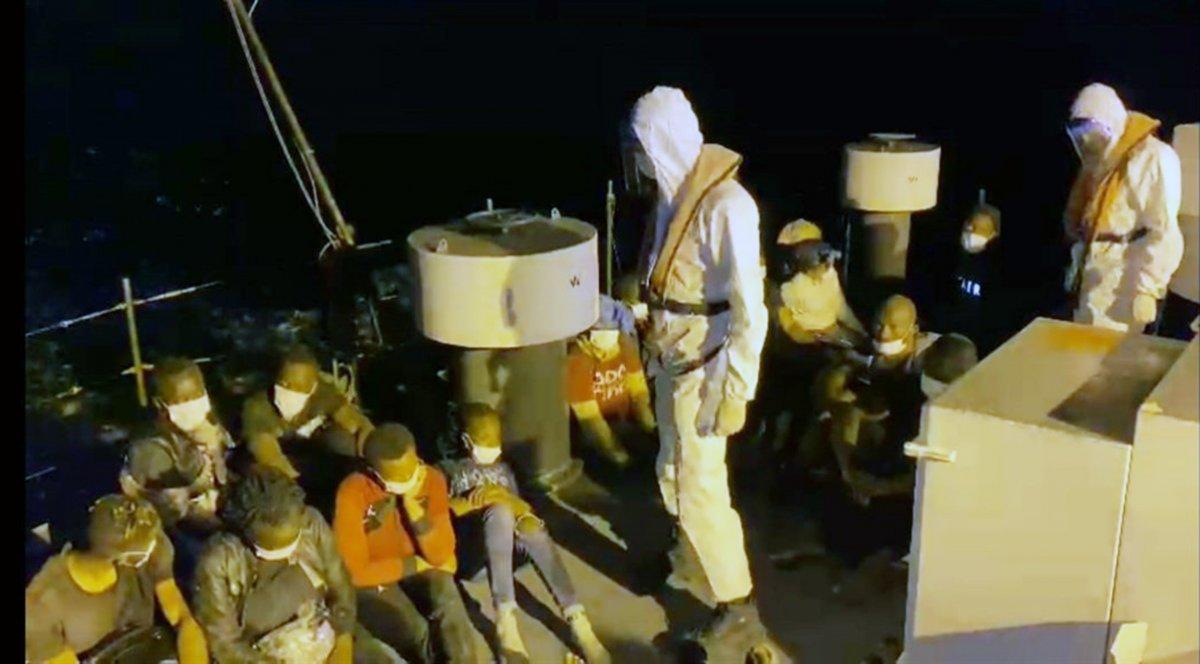 Muğla da 32 düzensiz göçmen kurtarıldı #3