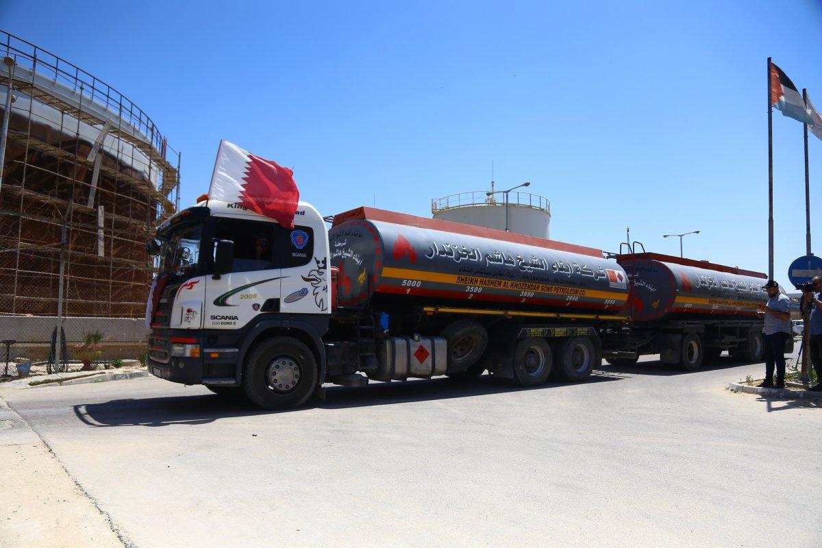 İsrail, Katar yakıtının Gazze Şeridi'ne girmesine izin verdi  #3