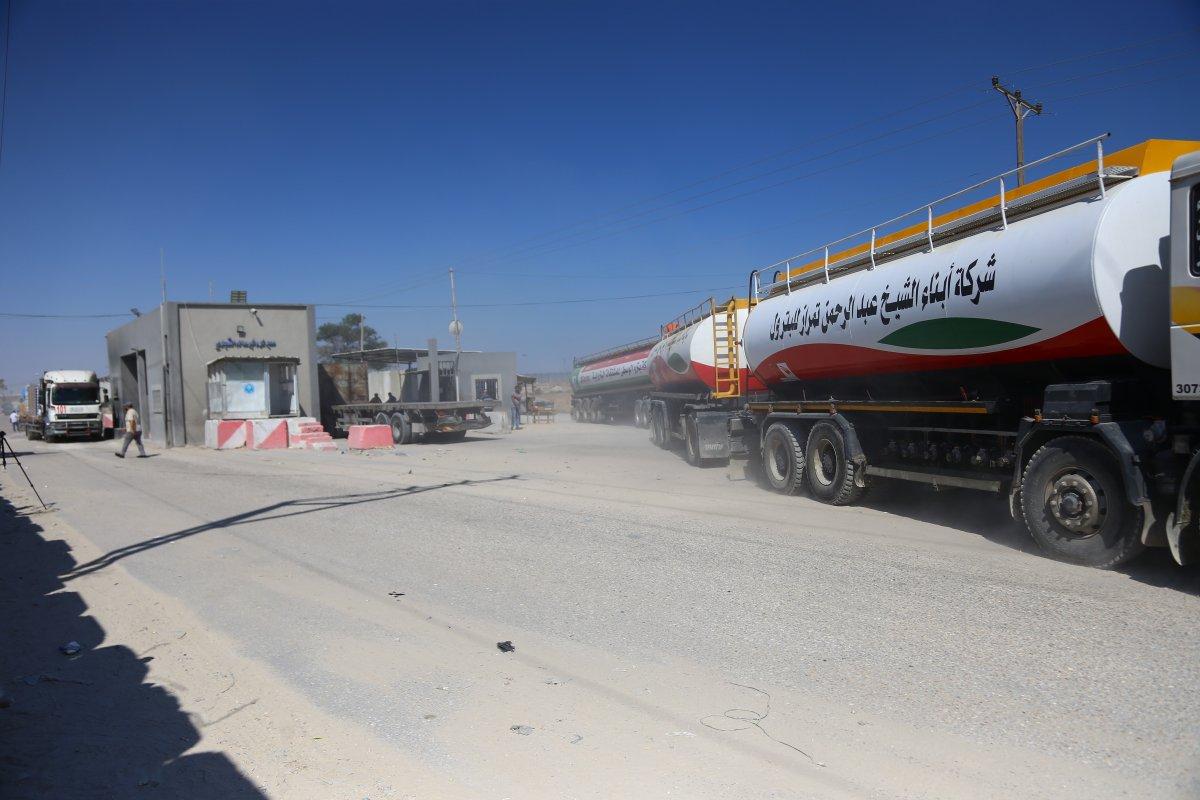 İsrail, Katar yakıtının Gazze Şeridi'ne girmesine izin verdi  #2