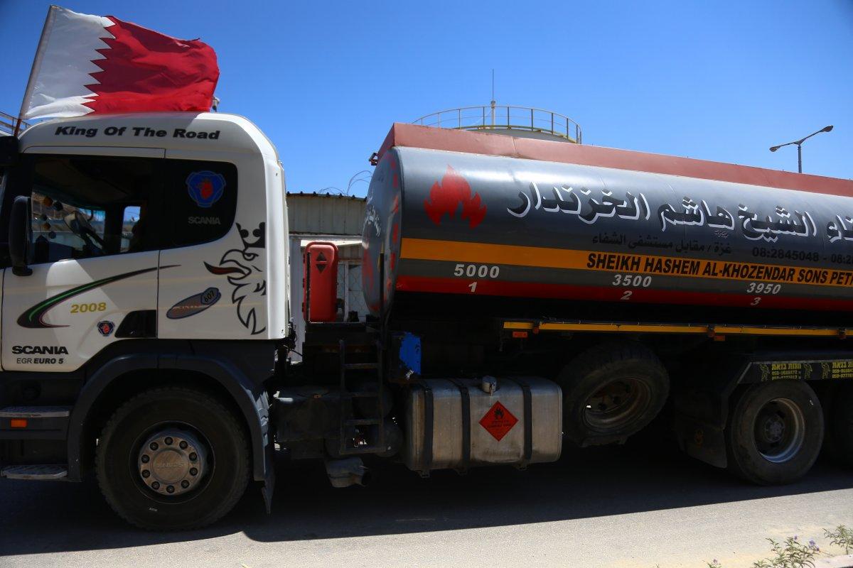 İsrail, Katar yakıtının Gazze Şeridi'ne girmesine izin verdi  #4