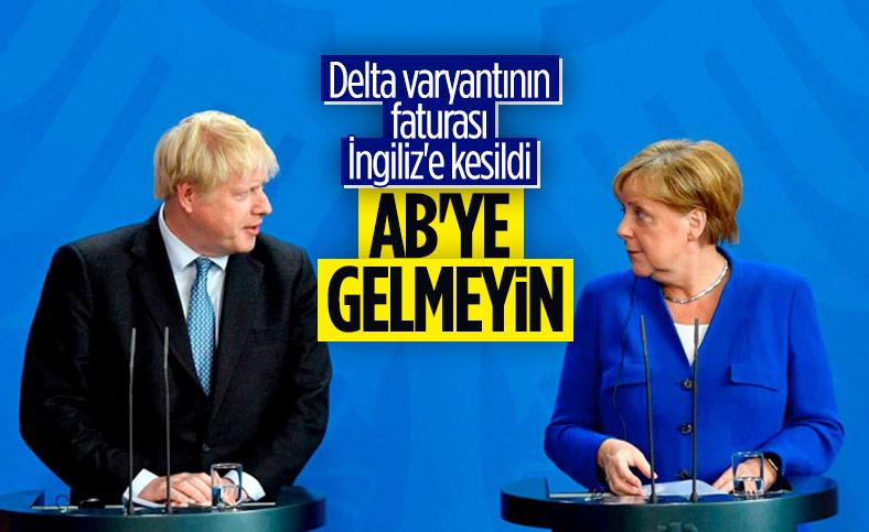 Almanya, İngiliz turistlerin AB ülkelerine girişini yasaklamak istiyor