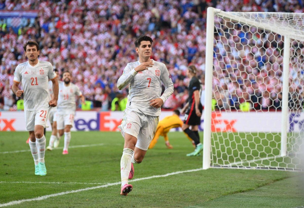 İspanya, Hırvatistan ı 5 golle mağlup etti #4