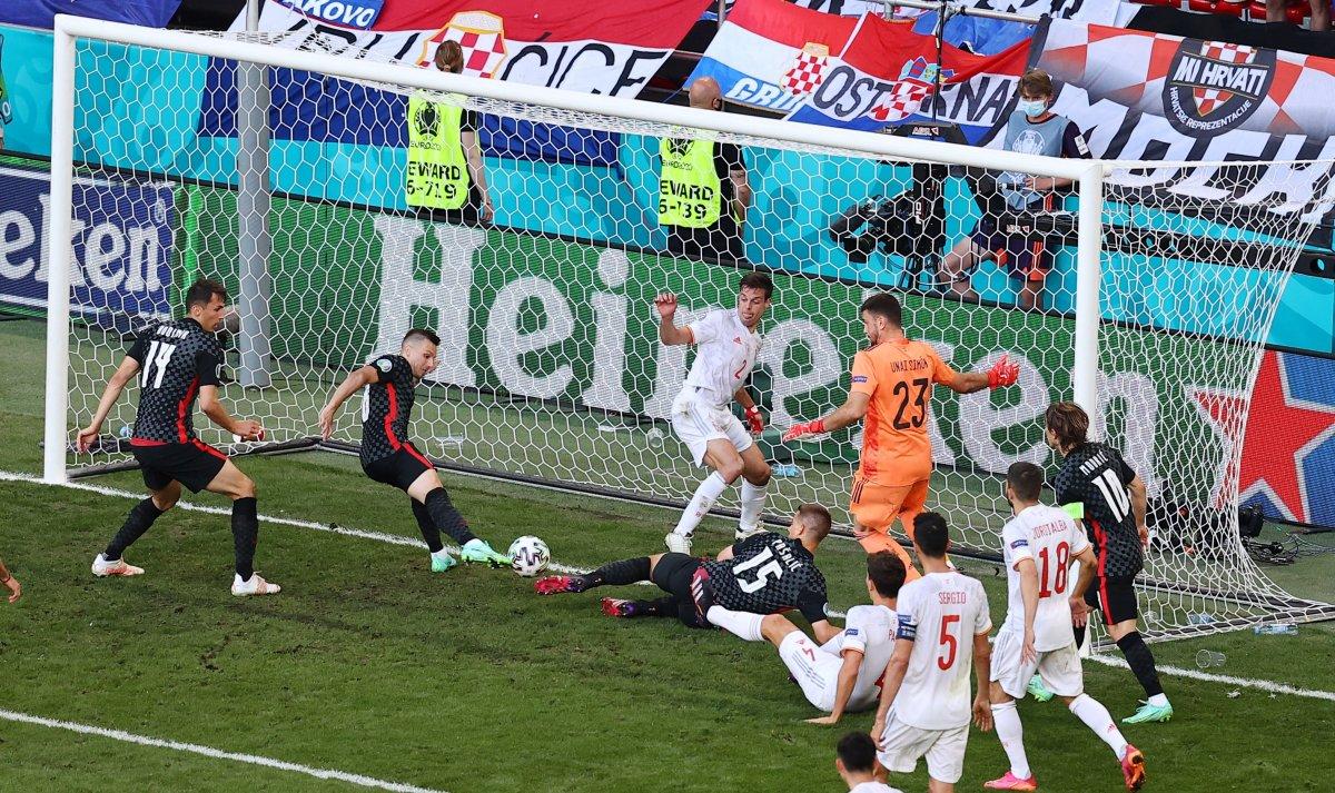 İspanya, Hırvatistan ı 5 golle mağlup etti #8
