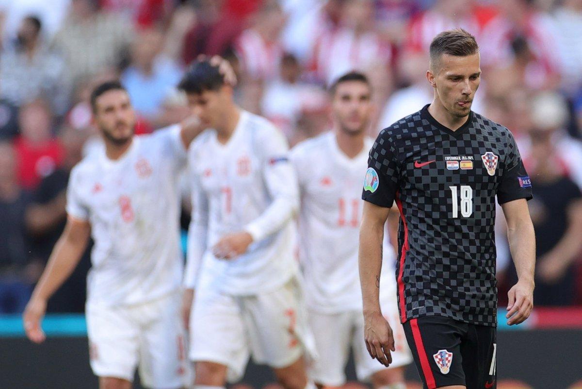 İspanya, Hırvatistan ı 5 golle mağlup etti #7