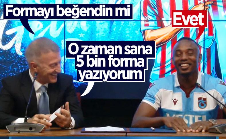 Ahmet Ağaoğlu ile Koita arasında gülümseten diyalog