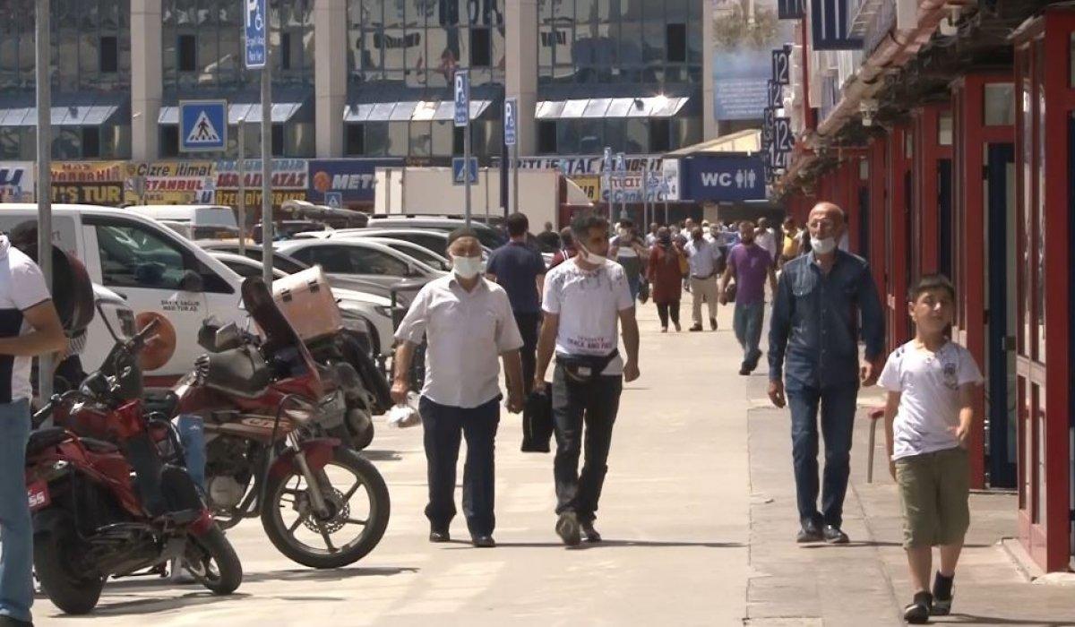 Otogarda bayram yoğunluğu başladı #2