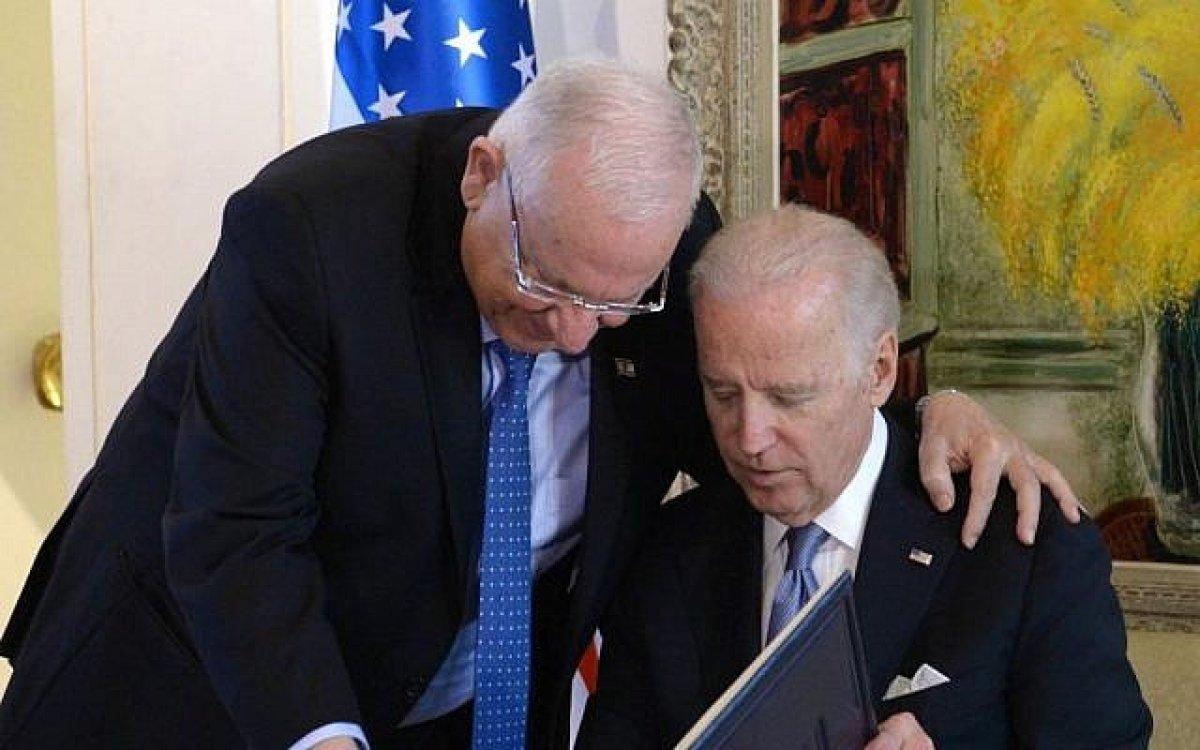 Joe Biden ile Reuven Rivlin in gündeminde İran ve İsrail in savunma ihtiyaçları var #1