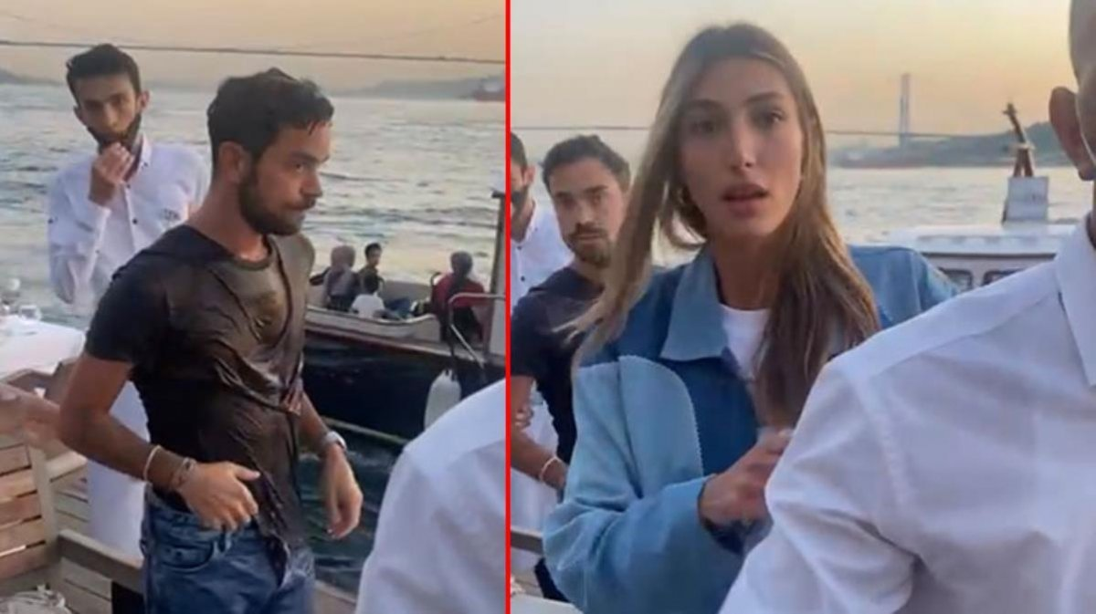 Eski sevgilisiyle yemek yiyen iş adamını denize atan şüpheli serbest bırakıldı #1