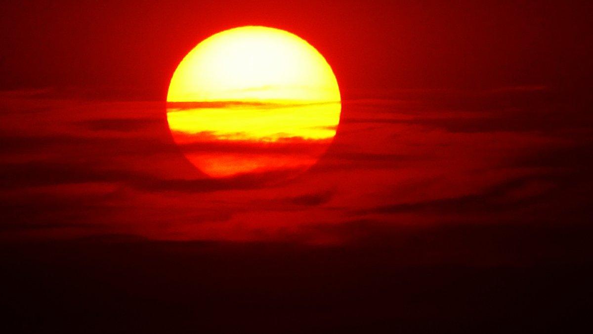 Güneş toz bulutlarıyla Jüpiter'i andırdı #1
