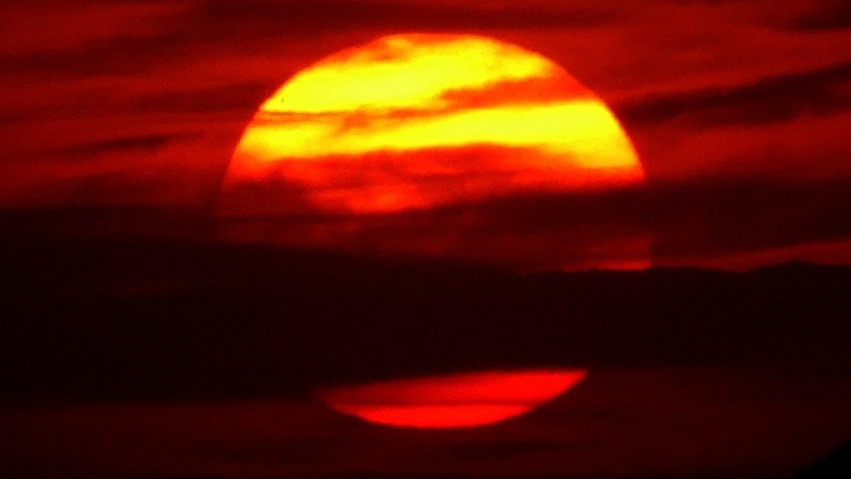 Güneş toz bulutlarıyla Jüpiter'i andırdı #3