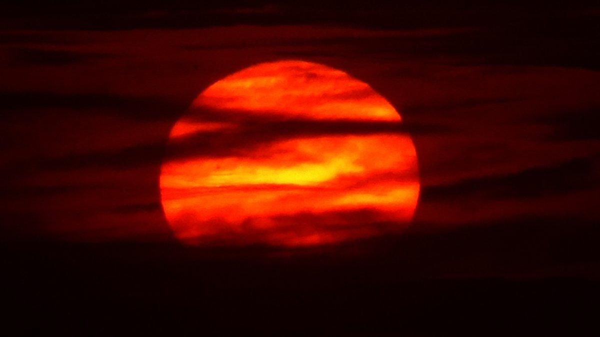 Güneş toz bulutlarıyla Jüpiter'i andırdı #2