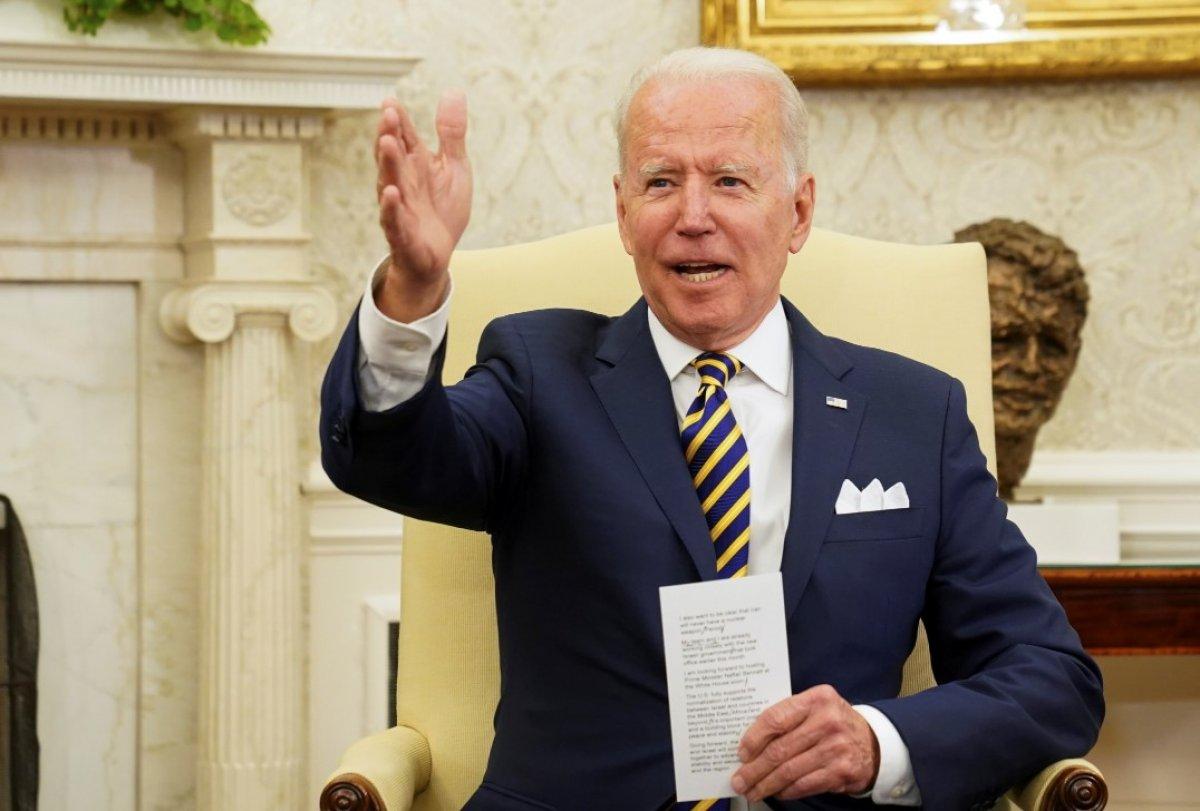 Joe Biden, İsrail Cumhurbaşkanı Rivlin ile görüştü #3