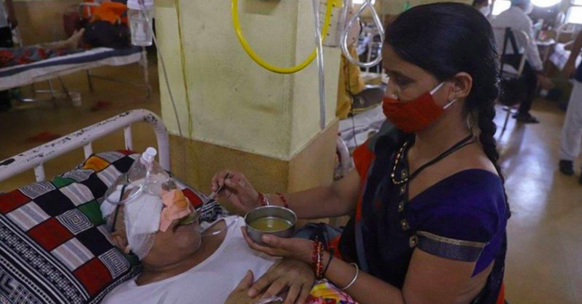 Hindistan da kara mantar vaka sayısı 40 bini geçti #2